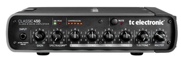Cabeçote Contrabaixo Classic 450 - TC Electronic