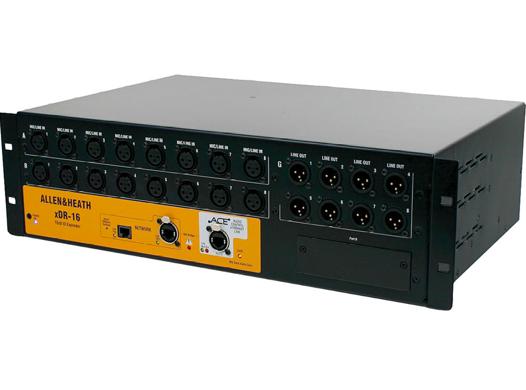 Expansor de MixRacks xDR-16/120 - Allen-Heath