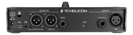 Pedal Voz  Play Acoustic - TC Helicon