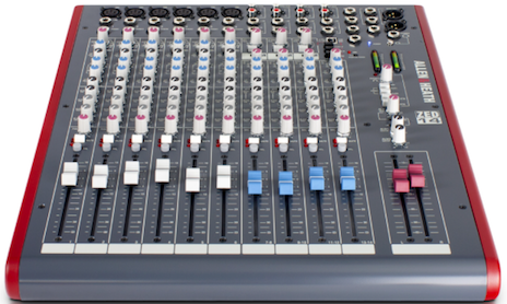 Mesa de Som Analógica ZED-14 USB de 14 Canais - Allen&Heath
