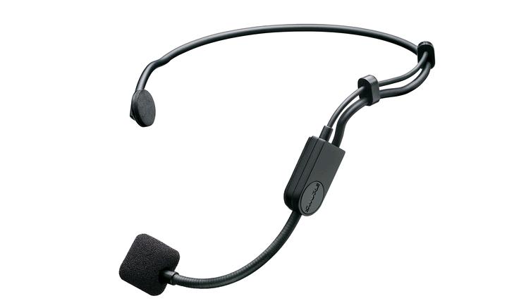 Microfone Condensador HeadSet para performances Shure PGA31-TQG