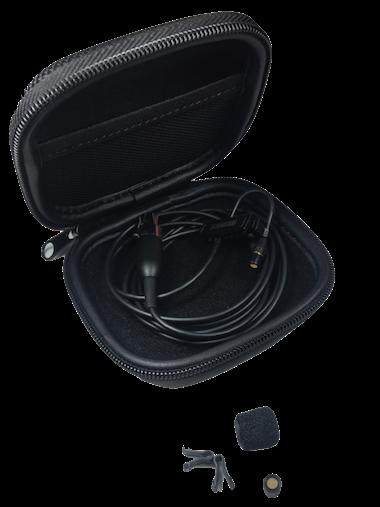 Microfone de Lapela Condesador Cardioide Shure MX150B/O-TQG