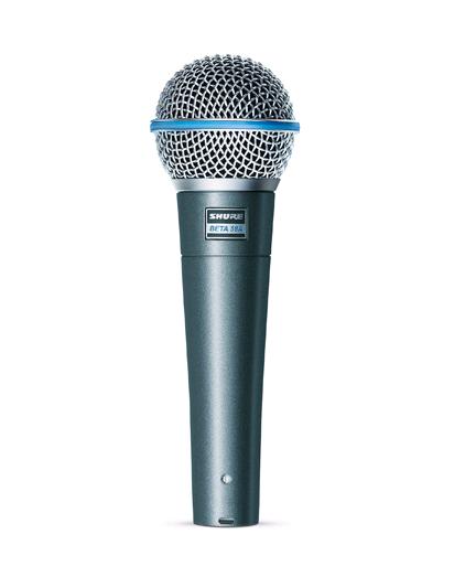 Microfone Dinâmico Supercardioide Shure BETA 58A