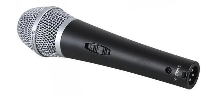 Microfone Dinâmico TG V35D S BeyerDynamic