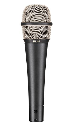 Microfone Vocal Dinâmico Cardioide PL 44 - Electro-Voice