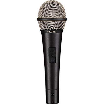 Microfone Vocal Dinâmico Cardioide PL24S - Electro-Voice