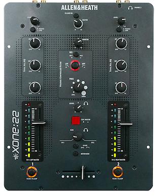 Mixer Profissional XONE:22 de 2 canais para DJ - Allen&Heath