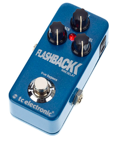 [Mostrúario] Pedal Guitarra Flashback Mini Delay - TC Electronic