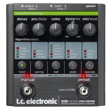 Pedal Guitarra Nova Reverb - TC Electronic