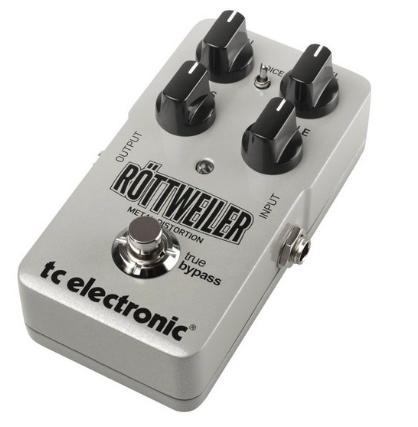Pedal Guitarra Rottweiler Distortion - TC Electronic