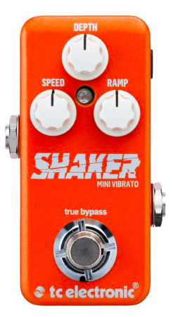 Pedal Guitarra Shaker Mini Vibrato - TC Electronic