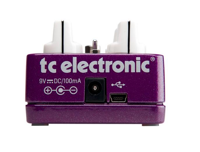 Pedal Guitarra Vortex Flanger - TC Electronic