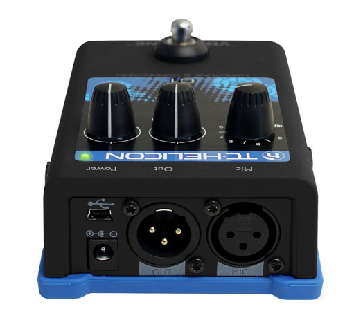 Pedal Voz VoiceTone C1 - TC Helicon
