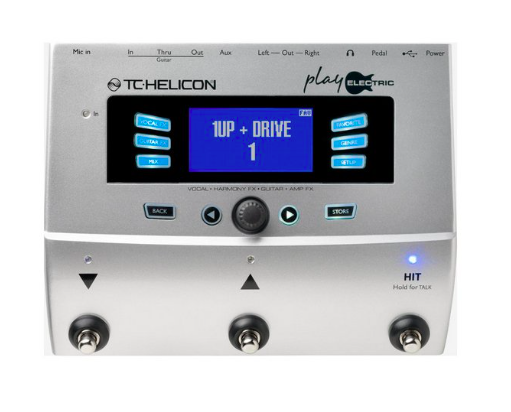 Pedaleira Voz VoiceLive Play Electric - TC Helicon