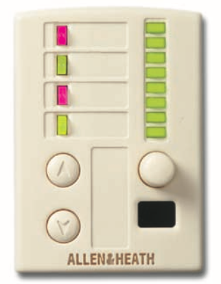 Controle Remoto De Parede PL-12 - Allen&Heath