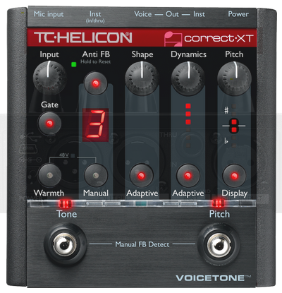 Pedal Voz VoiceTone Create XT - TC Helicon