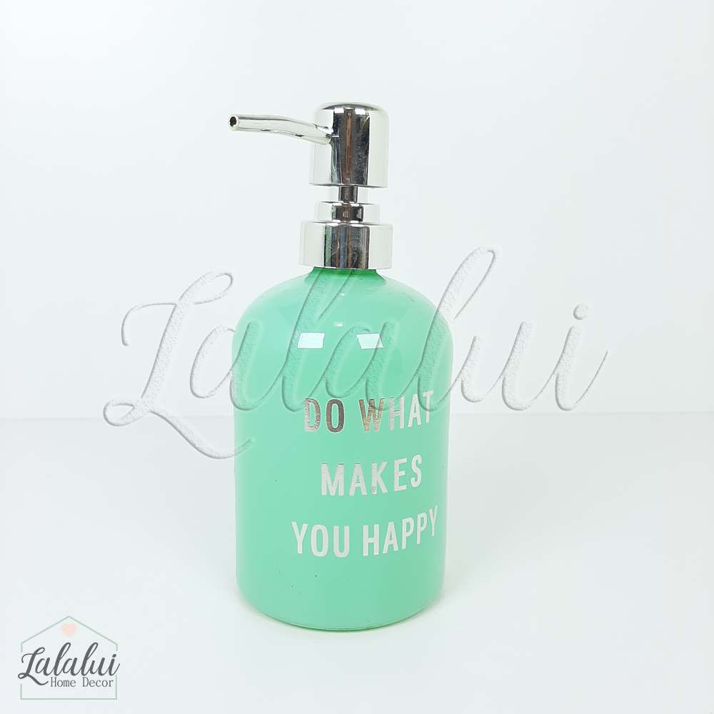 Dispenser | Do What - verde menta 8x8x18cm 400mL (LA2119)