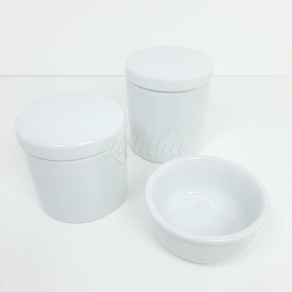 Kit de Potes | Porcelana Branca (LA1031)