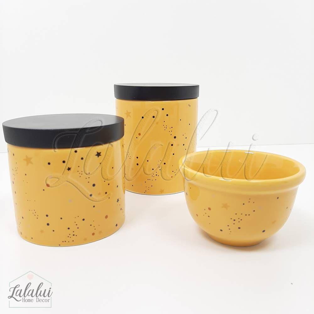 Kit de Potes | Universo Amarelo (LA2071)