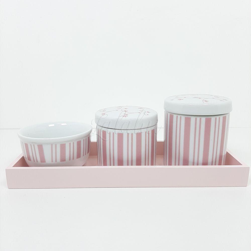 Kit Higiene   Arabesco Rose (LA2183)