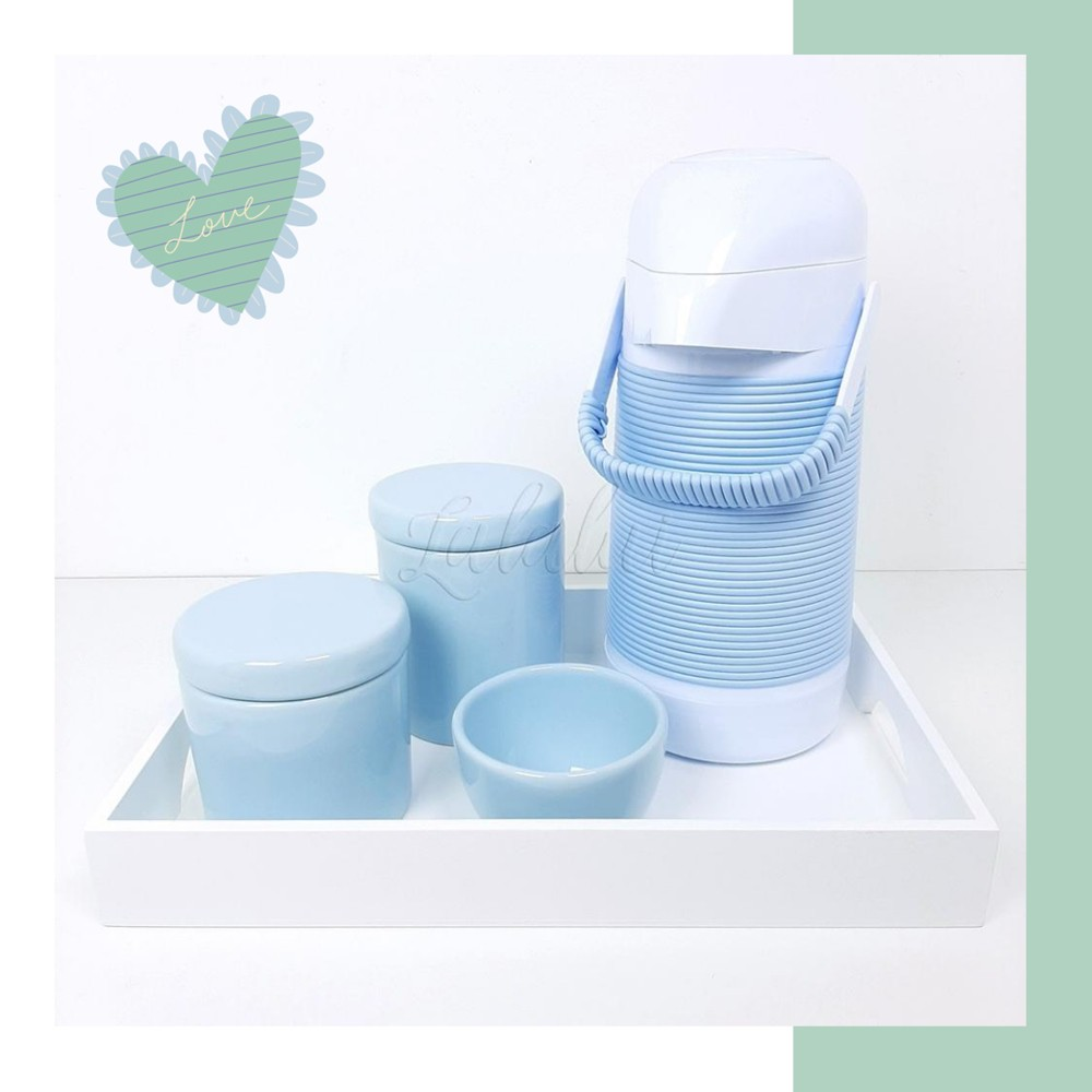 Kit Higiene | Azul Candy  (LA2277)