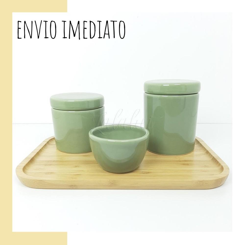 Kit Higiene | Verde Celadon (LA2259)