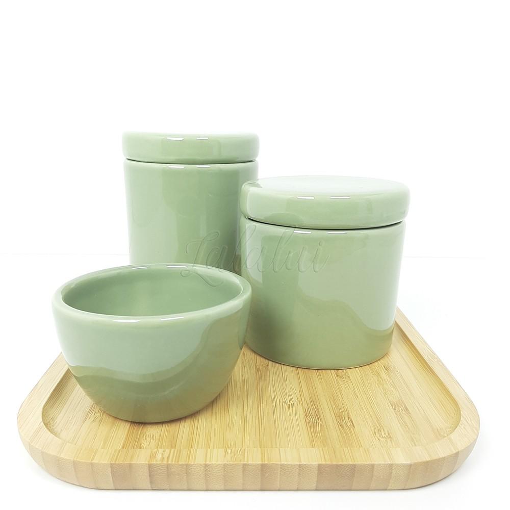 Kit Higiene   Verde Celadon (LA2259)