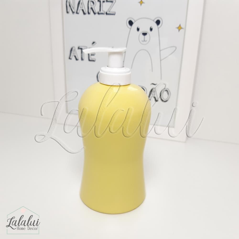 Dispenser para Álcool Gel | Amarelo Candy (LA1043)