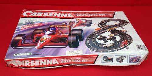 Antigo Autorama Car Senna Na Caixa