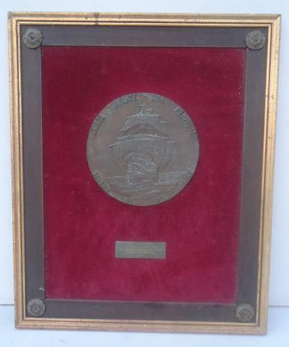 Antigo Quadro Premiação Regata Infante Dom Henrique