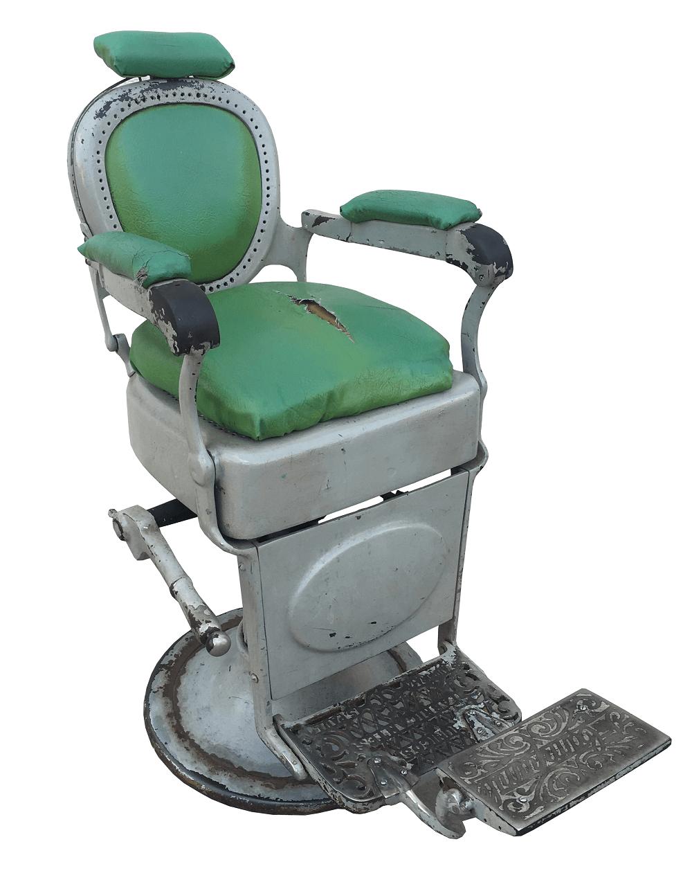 Antiga Cadeira De Barbeiro Campanile