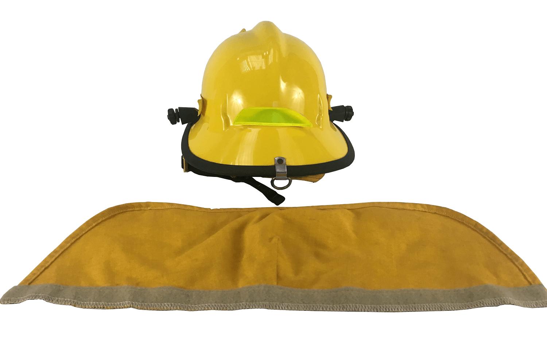 Antigo Capacete De Bombeiro Cairns & Brother Helmets Amarelo
