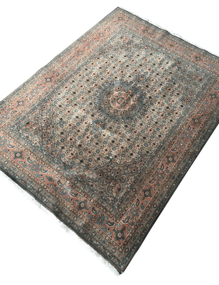 Antigo Tapete Persa 195x142cm