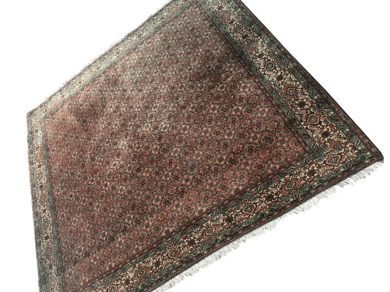Antigo Tapete Persa Grosso 196x202cm