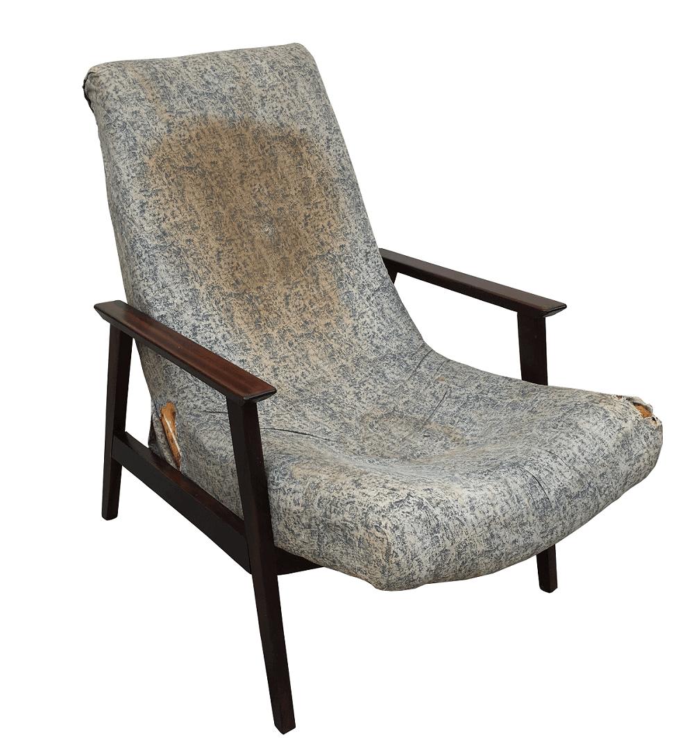 Cadeira Antiga Gelli Poltrona Canoa