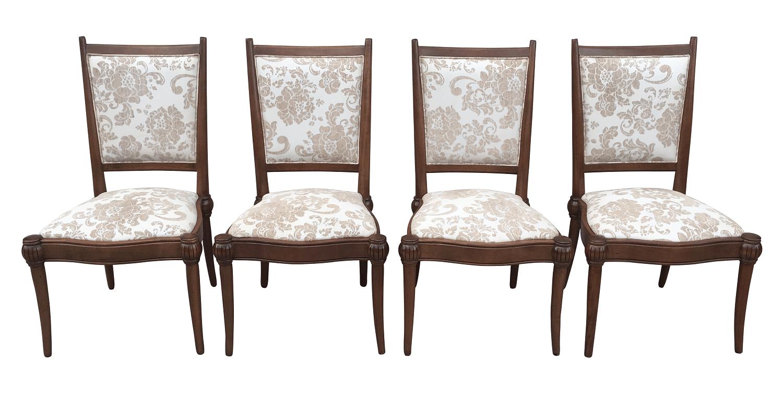 Conjunto Quatro Cadeiras Sierra Moveis Madeira Belissimos