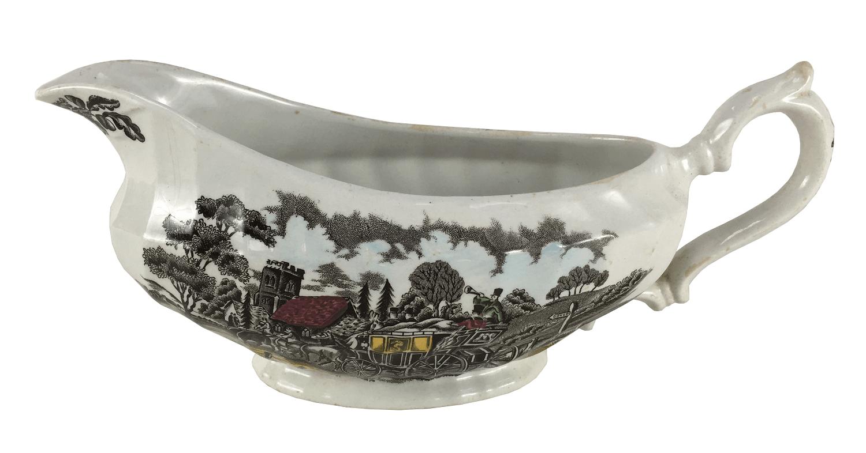 Molheira Antiga Porcelana Inglesa Fazendinha
