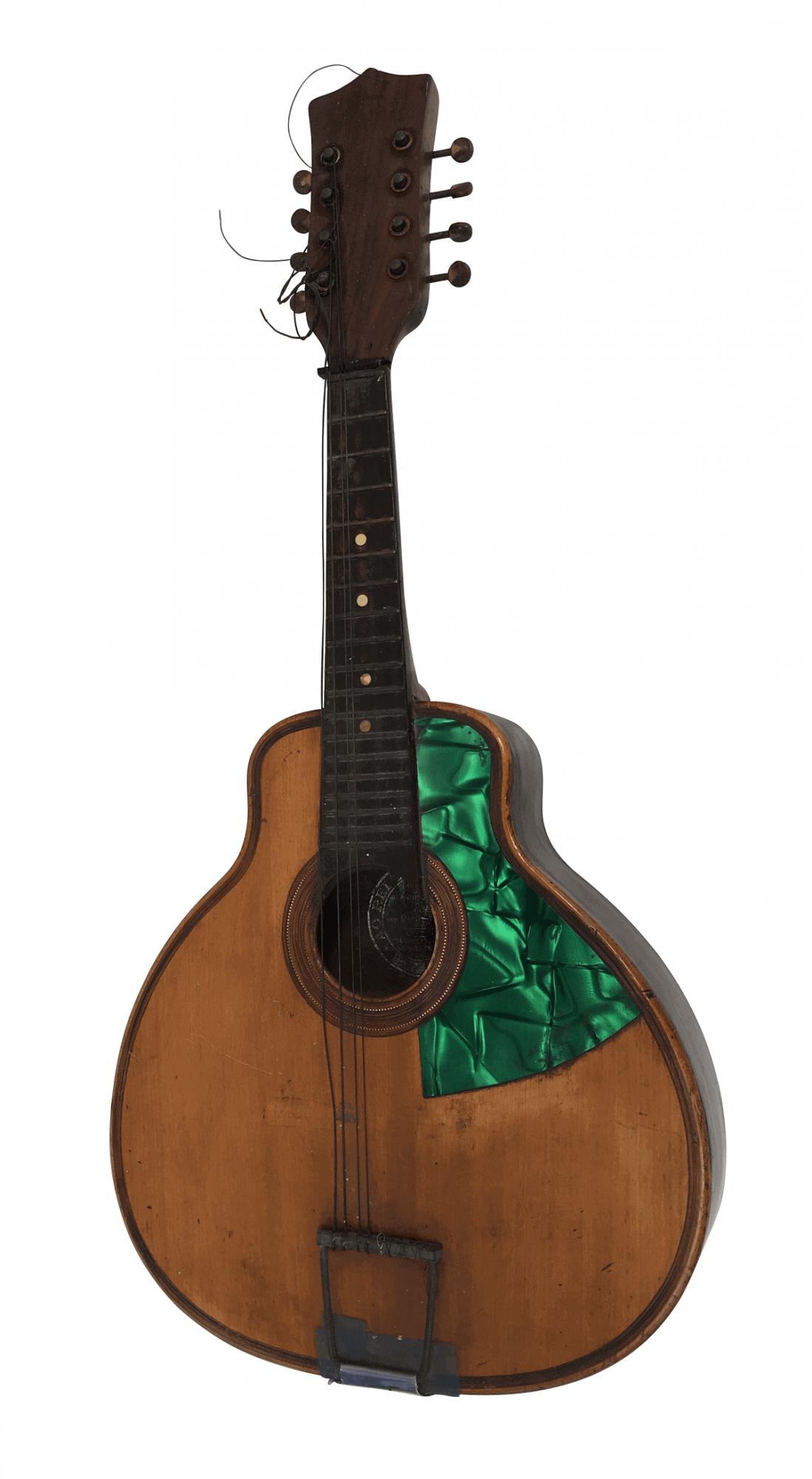 Antigo Instrumento Musical Bandolim Marca Rei Dos Violoes Madreperola