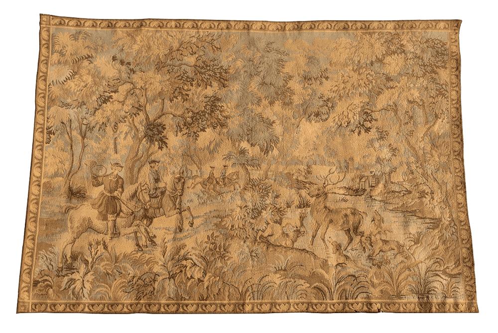 Tapeçaria Antiga Francesa Albusson 153x104cm