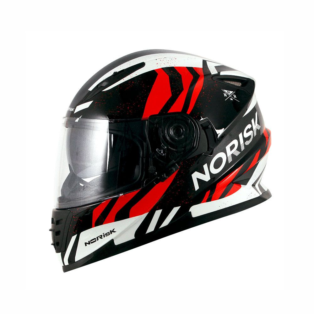 CAPACETE NORISK FF302 JUNGLE (C/ ÓCULOS INTERNO)