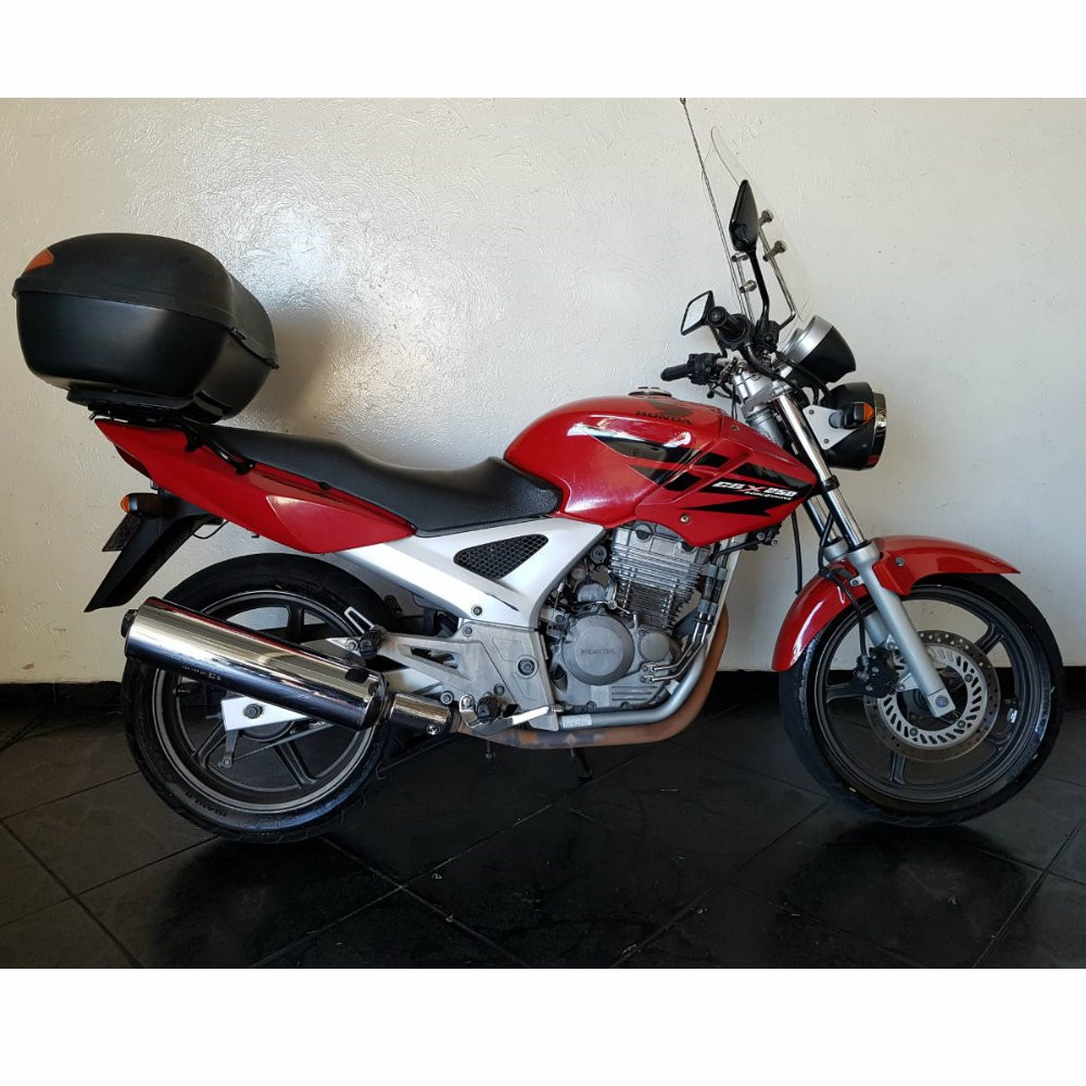 CBX 250 VEMELHA 2008