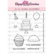 Kit de Carimbos - Aniversário 2