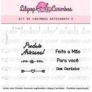 Kit de Carimbos - Artesanato 2