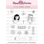 Kit de Carimbos - Fadinhas