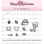 Kit de Carimbos - Pet