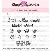 Kit de Carimbos - Professor 1