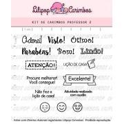 Kit de Carimbos - Professor 2