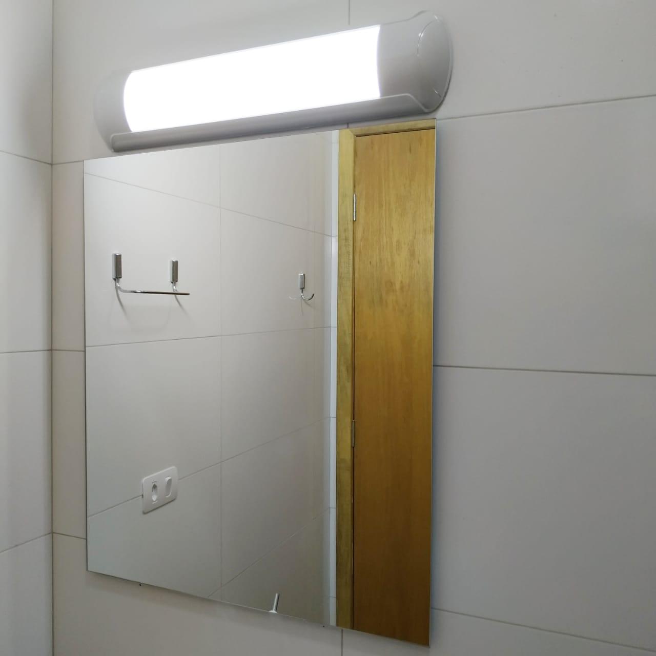 Luminária De Led 18w 58cm Lâmpada Espelho Banheiro Slim