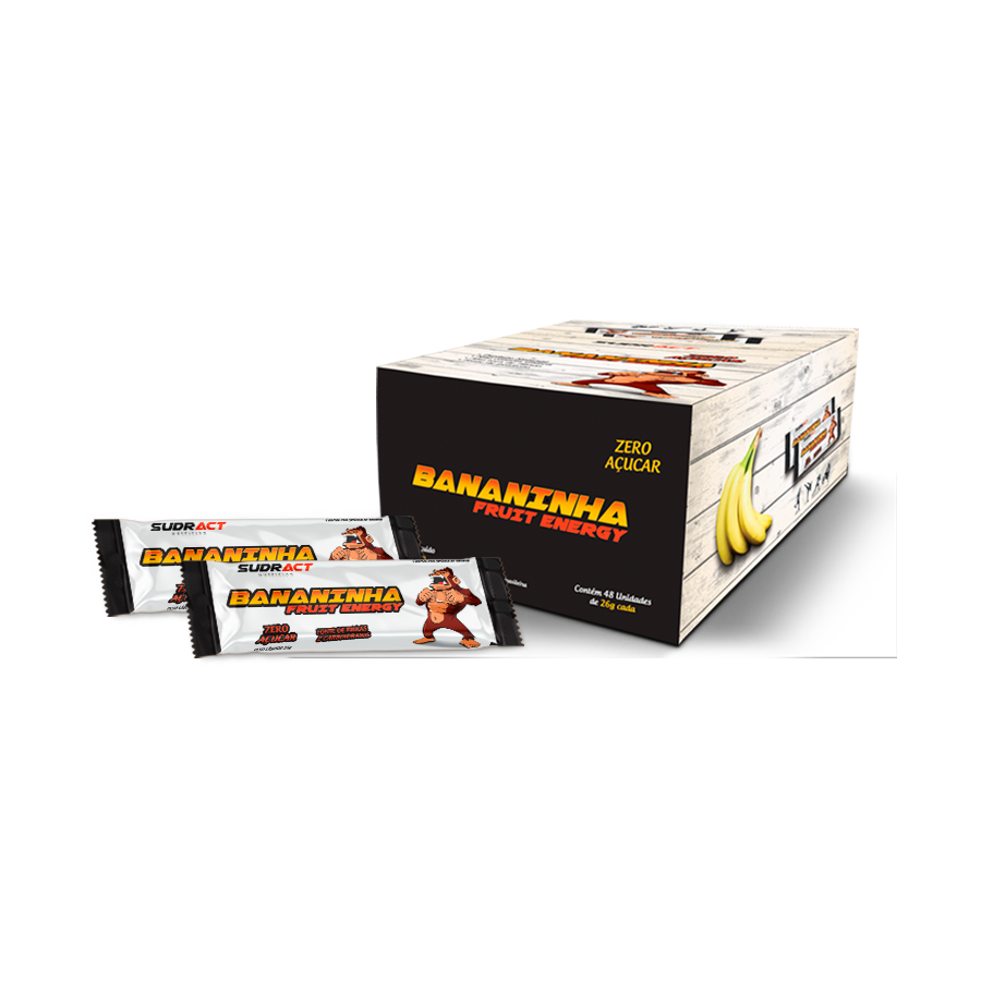 Bananinha Fruit Energy 26g – 18 unidades