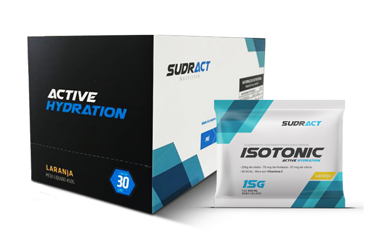 Isotonic Sudract 15g - caixa com 30 unidades